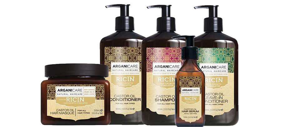 Test Arganicare Shampooing accélérateur de croissance à l'huile de ricin Bio. 400ml