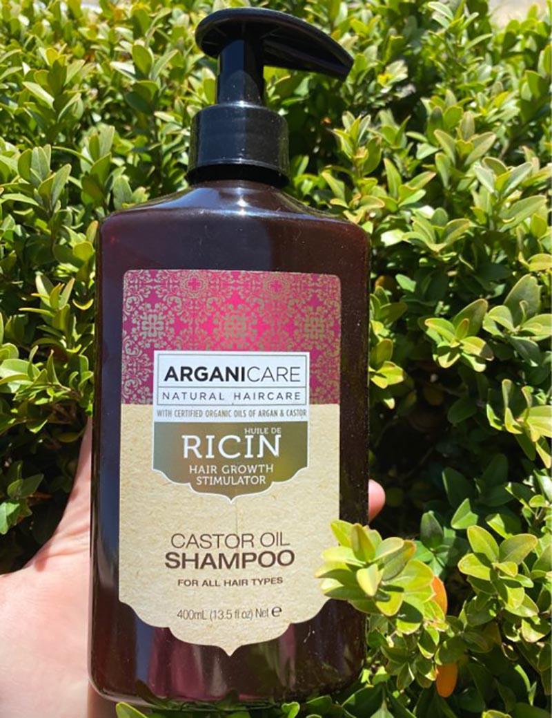 Test Arganicare Shampooing accélérateur de croissance à l'huile de ricin Bio
