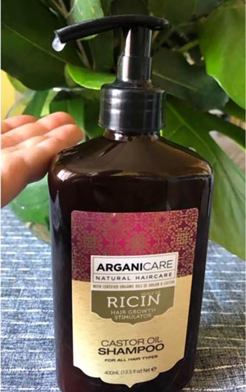 Test et Avis Arganicare Shampooing accélérateur de croissance à l'huile de ricin Bio